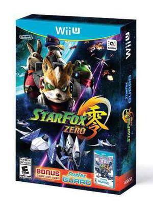 Star Fox Zero Bonus Star Fox Guard Para Wii U Fisico Sellado