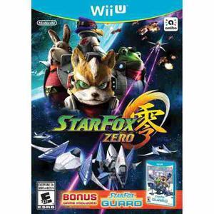 Star Fox Zero + Star Fox Guard - Wii U (Nuevo)