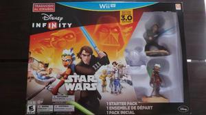 Starter Pack Disney Infinity Star Wars 3.0 Wii U Nuevo Nuevo