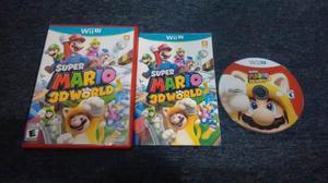 Super Mario 3d World Completo Para Nintendo Wii U,checa