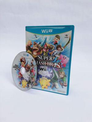 Super Smash Bros Para Nintendo Wii U (juego En Fisico)