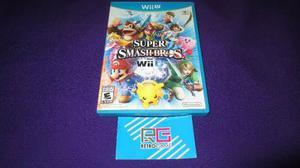 Super Smash Bros Wi U Con Envio Gratis