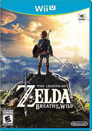 The Legend Of Zelda: Breath Of The Wild Wii U Envío Gratis!