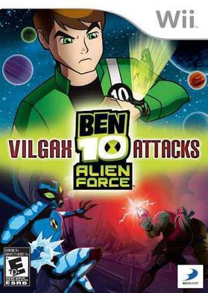 Wii & Wii U - Ben 10 Vilgax (acepto Mercado Pago Y Oxxo)