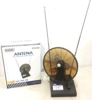 015-342 Antena De Conejo Con Plato