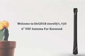 6 Antena De Vhf Para Kenwood Tk260 Tk270 Tk2300 Tk2312-7764