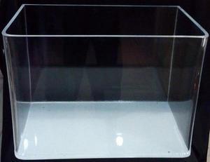 Acuario Pecera Acrilico Rimless 60 X 40 X 30 Cm