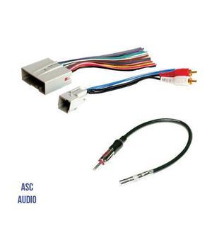 Adaptador De Antena Y Arnés De Audio Estéreo Asc Audio
