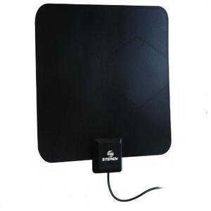 Ant-9025 Antena Uhf Ultra Delgada Con Booster De 25 Db