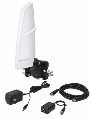 Antena Hdtv Aerea Recepcion 90°, Volteck 48165