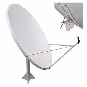 Antena Ku Base De Piso 1.50 Metros Acero