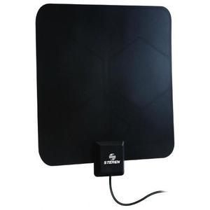 Antena Uhf Ultra Delgada Con Booster De 25 Db