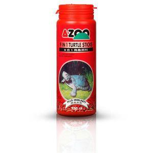Azoo 9 In 1 Turtle Sticks Alimento Tortuga 95 Gr.