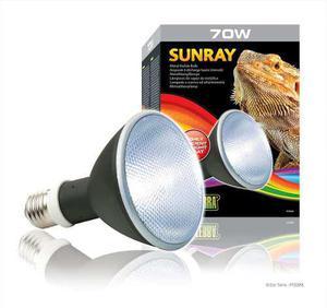 Exo Terra Sunray 35w - Foco 2 En 1 Calor Y Uvb Para Reptiles