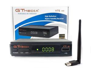 Freesat V7s Hd + Antena Wifi, Envío Gratis, 3 Meses Rojo