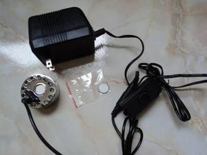 Humificador Generador Neblina Con Luz Led Y Apagador De Paso