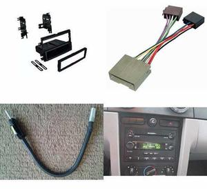 Kit Frente Antena Arnes 1 Din Ford Mustang Año 2005 A 2009