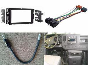 Kit Frente Arnes Antena P/ Chevrolet Express Van 2008 A 2014
