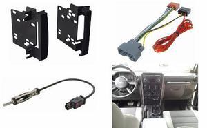 Kit Frente Arnes Y Antena Para Jeep Wrangler Año 2007 A