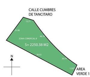 TERRENO COMERCIAL EN VENTA CUMBRES DEL CIMATARIO, ZONA