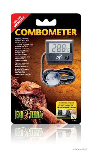 Termometro E Higrometro Digital Exo Terra Terrario Medicion