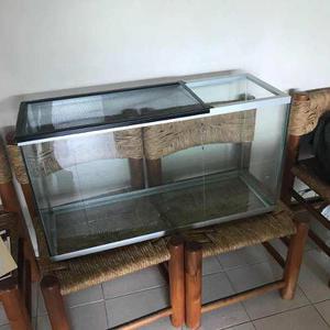 Terrario Tipo Pecera De Vidrio 1m Aprox No Para Agua
