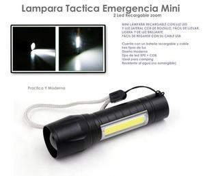 Yl Lampara Tactica Recargable Zoom Bici Camp Emergencia511