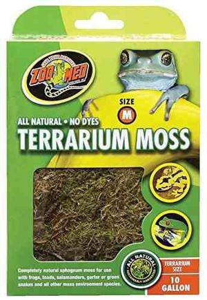 Zoo Med All Natural Del Reptil Terrario Musgo Sustrato