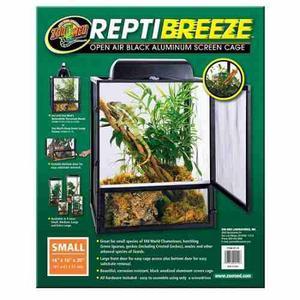 Zoo Med Reptibreeze - Terrario De Malla Chico Para Reptiles