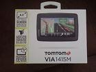 Brand New Tomtom Via m Gps Touch Screen Lifetime Maps Sp