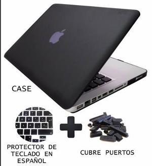 Carcasa Case Cubierta Macbook 11 Y 13 Humo 3 Pza