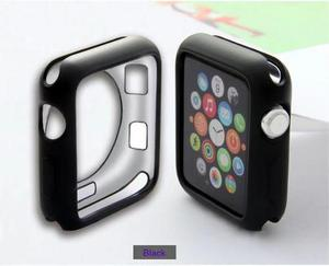 Case Protector De Tpu Mate Para Apple Watch 38 Y 42 Mm +mica