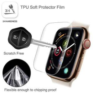 Combo 2 Micas Protectoras De Tpu Para Apple Watch Series 4