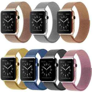 Correa Acero Inoxidable Apple Watch Iwatch Milanese