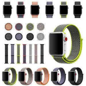 Correa Extensible Nylon Apple Watch 38mm 42mm Iwatch