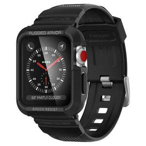 Correa Extensible Spigen Apple Watch 38mm Series 1 2 3 Negro
