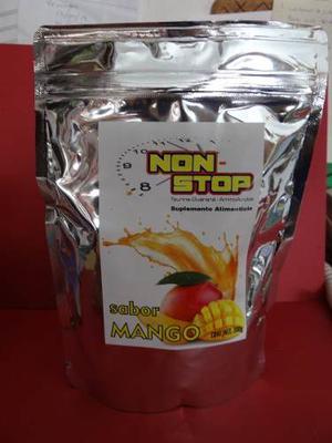 Energizante Sabor Mango Non Stop Suplemento Alimenticio