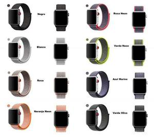 Extensible Nylon Loop Sport Tela Apple Watch 38/42mm 1,2,3,4