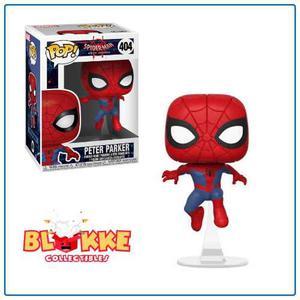 Funko Pop Marvel Spiderman Spiderverse Peter Parker 404