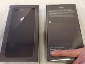 Iphone 8 Plus Negro 256 Gb Libre 12mil