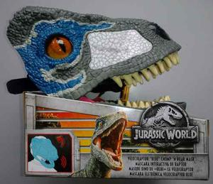 Jurassic World Máscara Interactiva Velociraptor Con Sonido