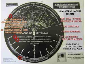 Mapa De Estrellas Astronomia, Telescopio Binoculares Laser
