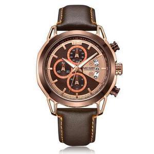 Megir 2071 Reloj Hombres Reloj Superior Lujo Marca Reloj Cue