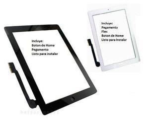 Touch Ipad 3 Y 4 A1416 A1430 A1459 A1458 A1460 A1403 Blanco