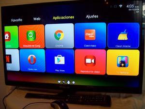 "pantalla 32""smart tv led hd android polaroid casi nueva,con"
