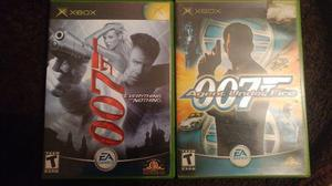007 Agent Under Fire 007 Everything Or Nothing Xbox Clasico