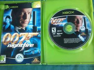 007 Agente El Mundo Noche De Fuego Para Xbox Clasico