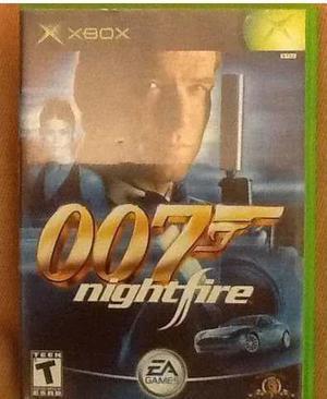 007 Night Fire Para Xbox Clasico Perfecto Estado-----mr.game