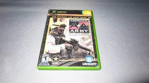 America´s Army Rise Of A Soldier Xbox Clasico Portada