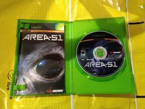 Area 51 Xbox Clásico Juegazo Y Muy Escaso